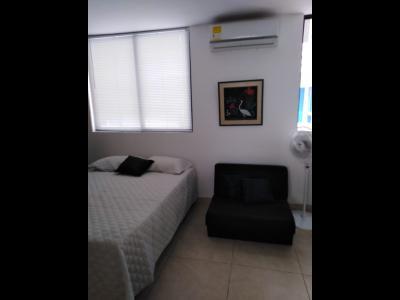 Apartamentos Arriendos  Bocagrande, Apartaestudio