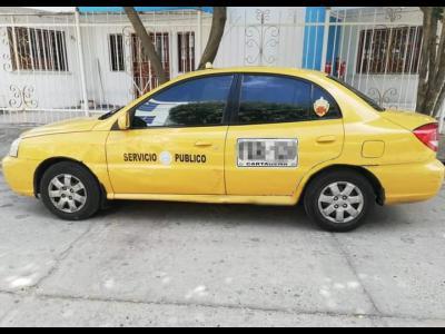 Taxis Ventas  Taxi Kia Rio 2012